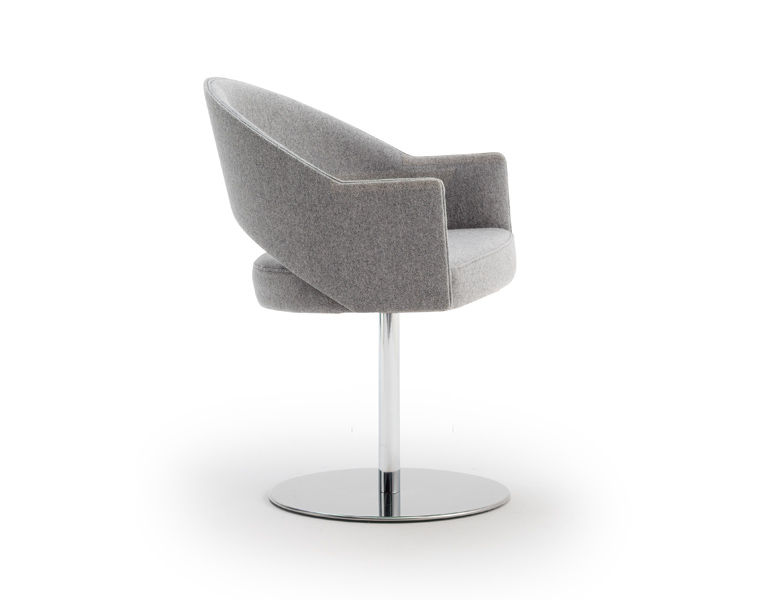 Maria Swivel Base Arm Chair