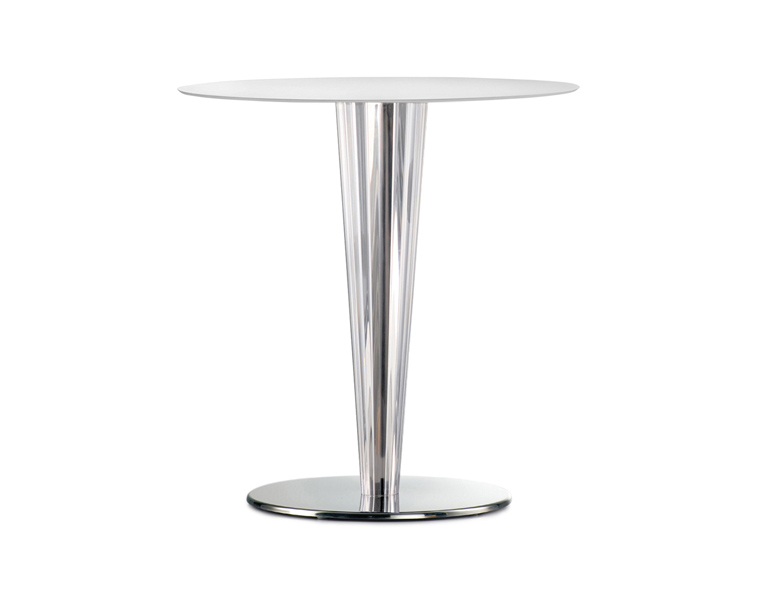 Abria Transparent Table Base