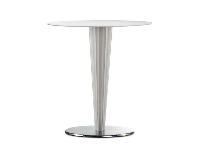 Abria White Table Base