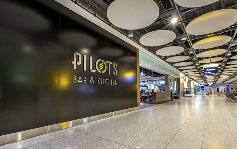 Pilots Bar & Kitchen Entrance