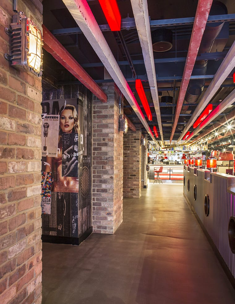 TGI Fridays Turnkey Fit Out