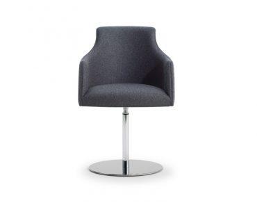 Kaylea One Swivel Base Arm Chair
