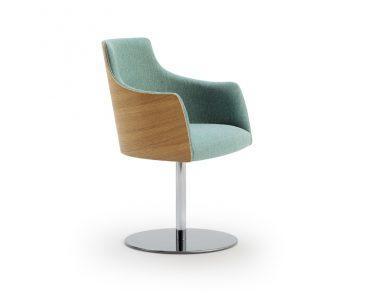 Kaylea Swivel Base Arm Chair