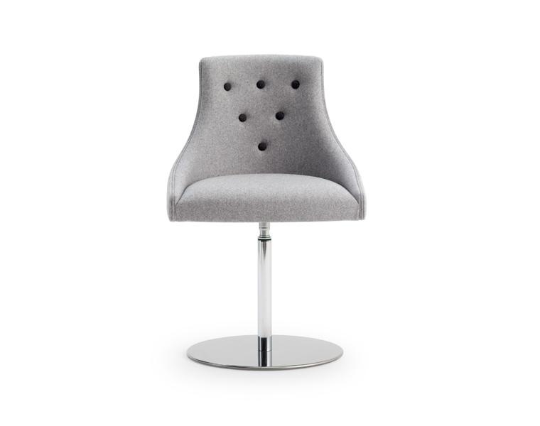 Kaylea Lux Swivel Base Lounge Chair