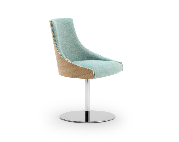 Kaylea Swivel Base Lounge Chair