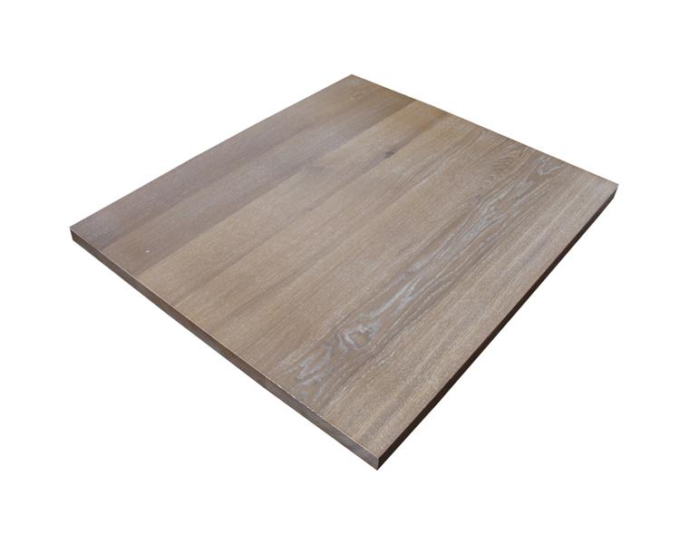 Fumed European Oak Table Top
