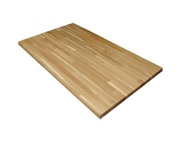 Oak Butcher Block Table Top