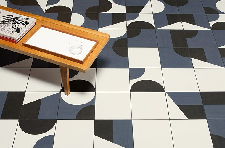 Graphic Tiling Flooring Trends