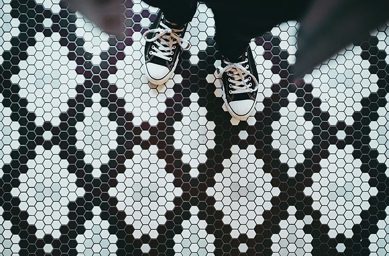 Monochrome Flooring Trends