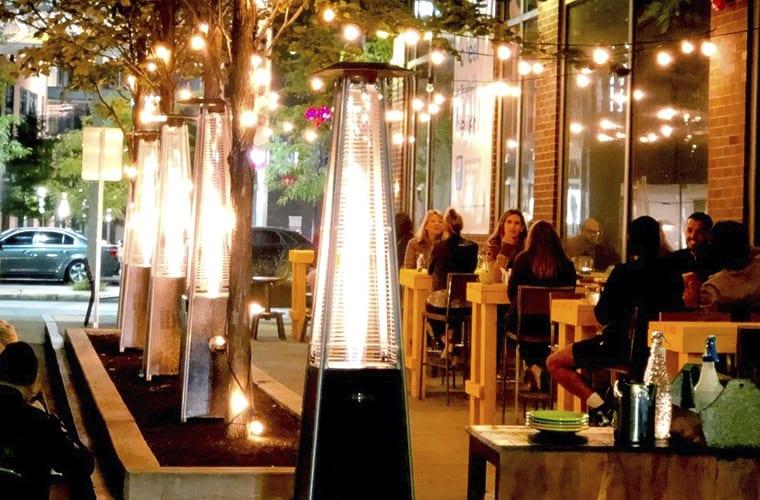 Outdoor Bar Seating