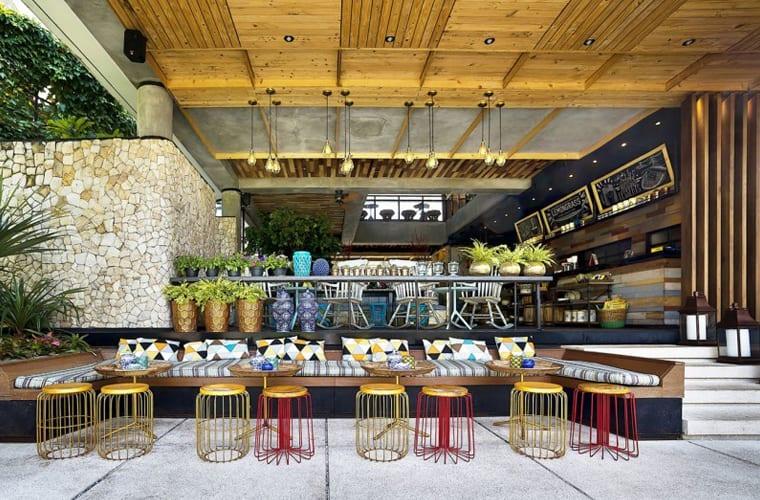 Restaurant Natural Materials