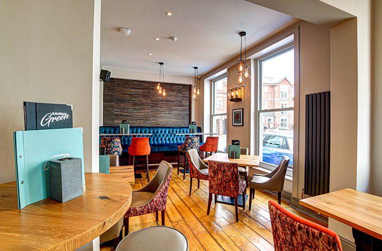 Suburban Green Chorlton Dining Room