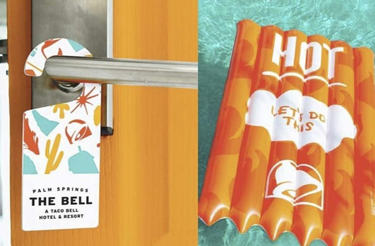Taco Bell Experiential Hotel