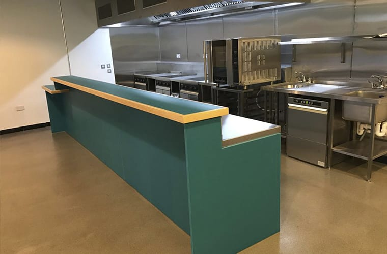 Manchester Youth Zone Kitchen