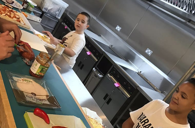 Manchester Youth Zone Pizza