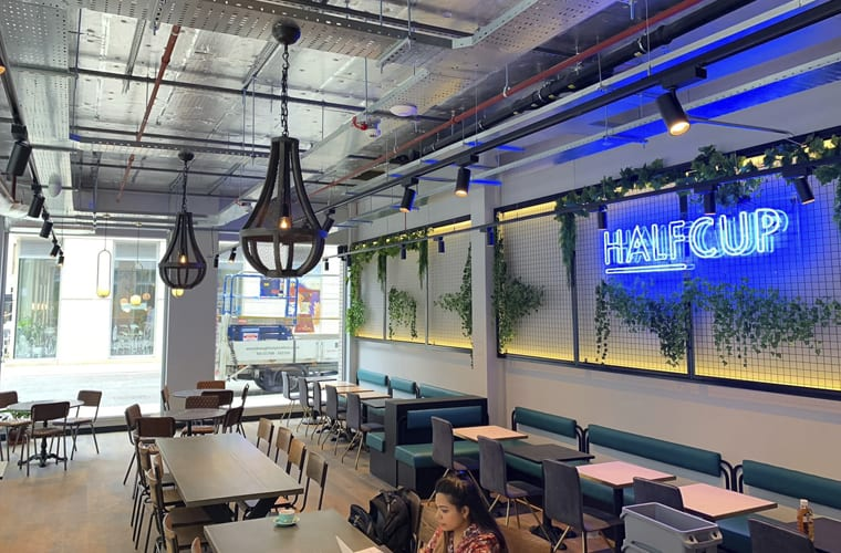 HALFCUP Restaurant Fit Out