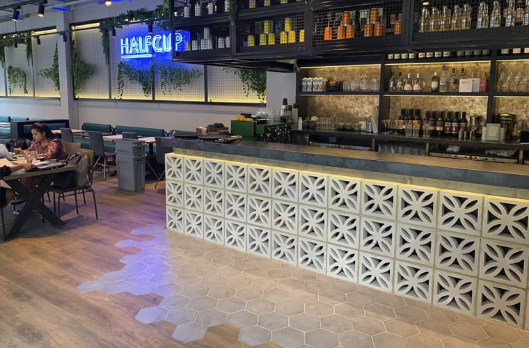 HALFCUP Bar Fit Out