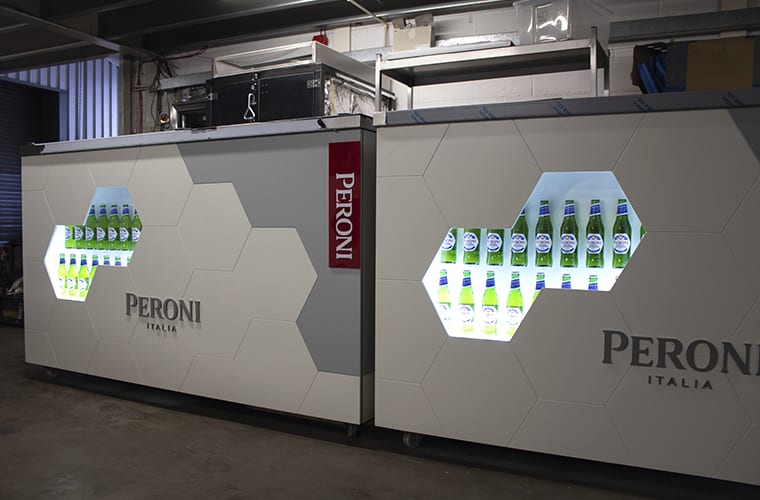 Peroni Branded Mobile Bar