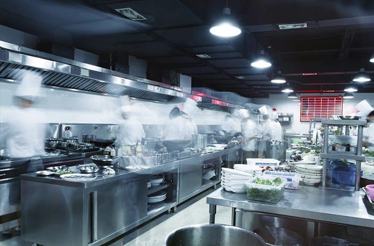 Commercial Kitchen Zones
