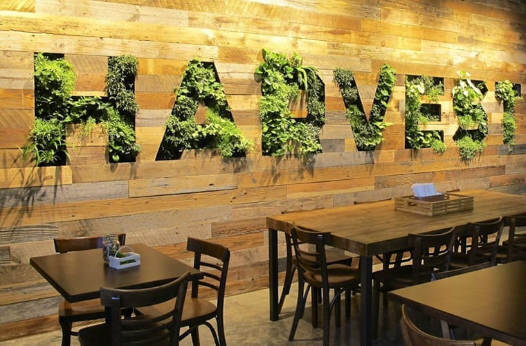 Living Wall Branding