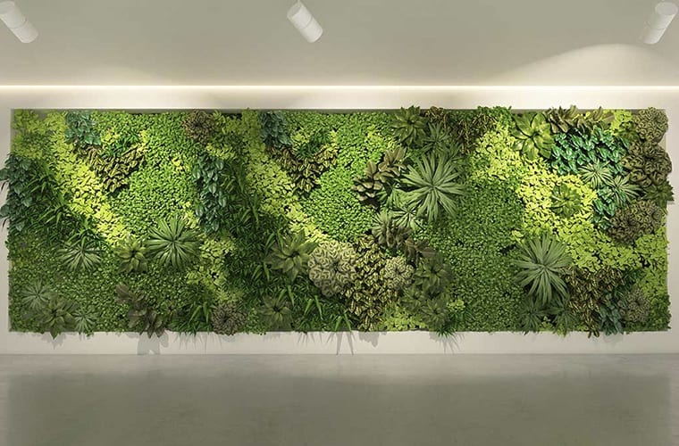 Hotel Living Wall