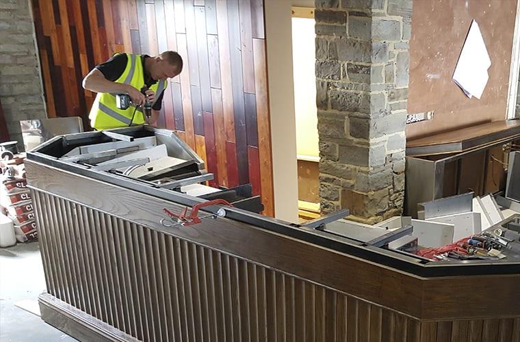 Bar Construction