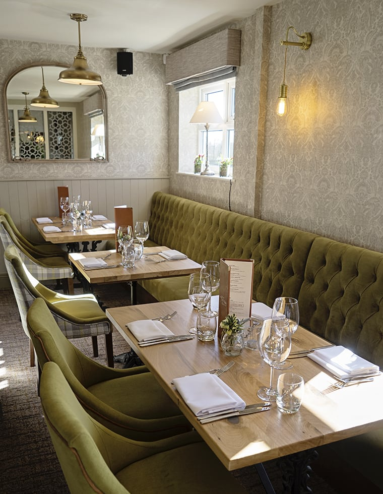 Antrobus Arms Fixed Seating