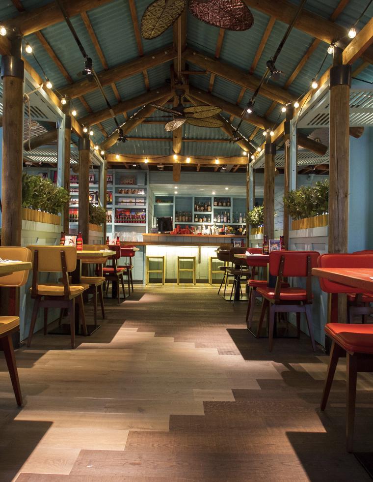 Levi Roots Restaurant Fit Out