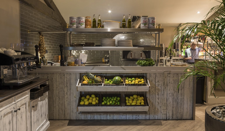 Residence Restaurant Kitchen